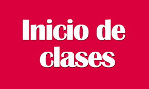 Inicio del curso 2019-20