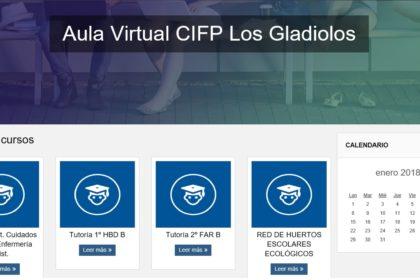 Nueva Aula Virtual  del CIFP Los Gladiolos