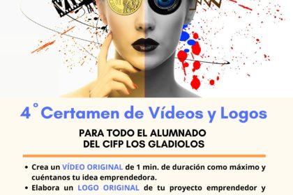 Cuarto Certamen de Emprendimiento: Videos y Logos