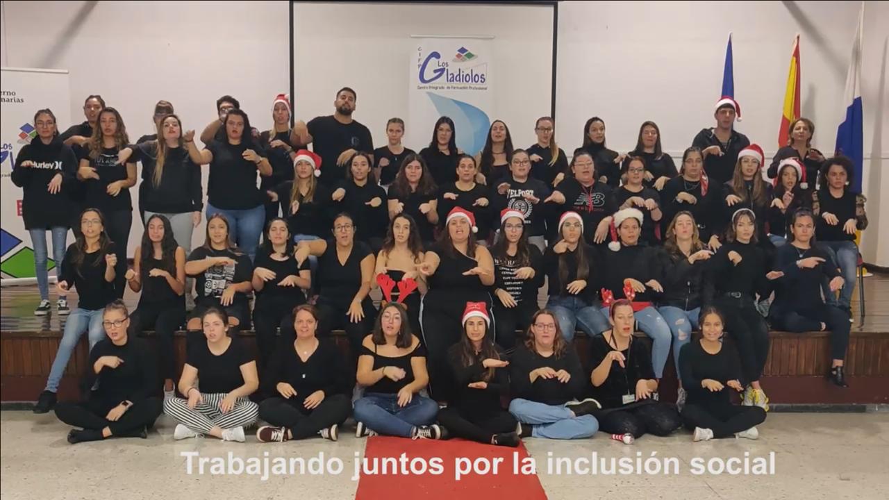 EL CIFP LOS GLADIOLOS FELICITA LA NAVIDAD A TODOS Y A TODAS