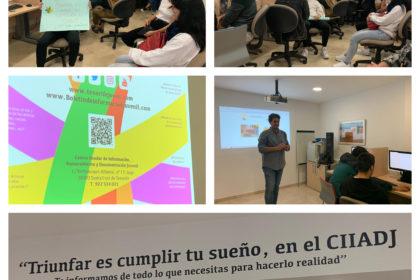 Visita al Centro Insular de Información, Asesoramiento y Documentación Juvenil (CIIADJ)