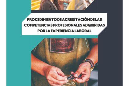 Convocatoria Acreditación de Competencias Profesionales 2020 en Centros Integrados de Formación Profesional