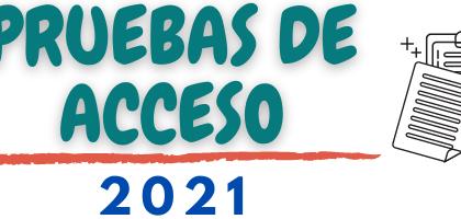 Pruebas de acceso a ciclos formativos de Formación Profesional. Curso 2021/2022