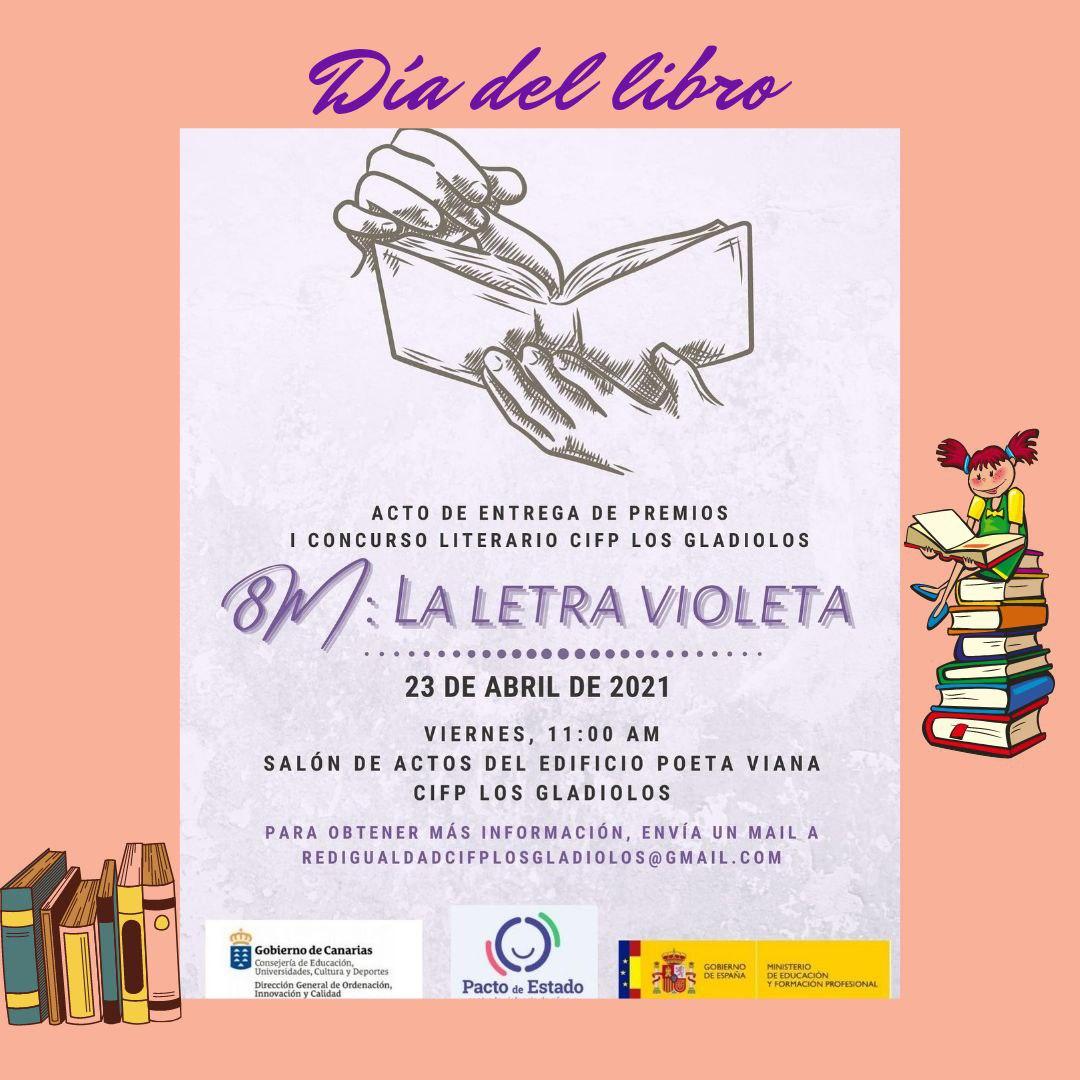 Entrega de premios del I Concurso Literario La letra Violeta